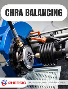 Turbocharger CHRA Balancing