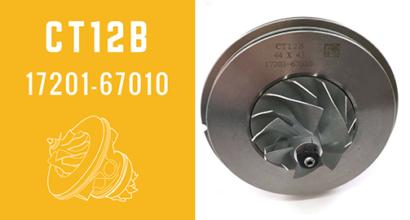 CT12B 17201-67010 Turbocharger CHRA Cartridge