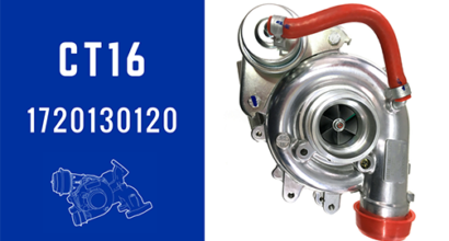 CT16 17201-30120 Turbochargers Oil Cooled