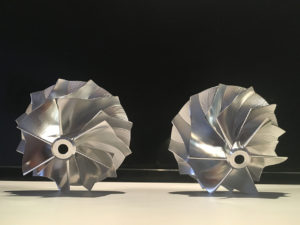 Customize billet compressor wheels