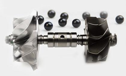 Dual ball bearing turbocharger