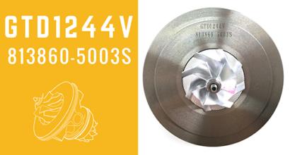 GTD1244V 813860-5003S Turbochargers CHRA MFS With Billet Compressor Wheels