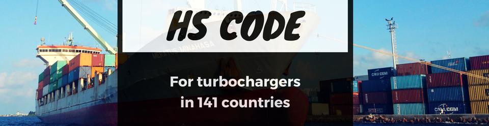 Turbochargers HS Code