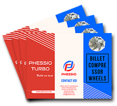 PHESSIO TURBO BILLET COMPRESSOR WHEELS Catalogue 2018