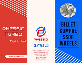 PHESSIO TURBO BILLET COMPRESSOR WHEELS Catalogue