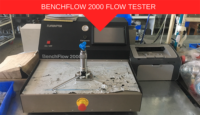 PHESSIO TURBO Specialist Machinery FLOW TESTER