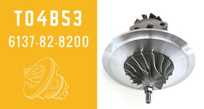 T04B53 6137-82-8200 Turbocharger CHRA Cartridge